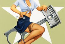 Vintage Pinups & Posters