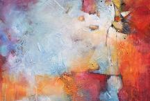 Abstraction that I like / Various artists, various paintings, various esthetics