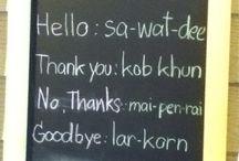Languages Thai