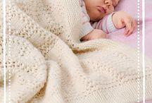 Babydecken stricken
