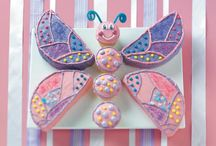 Butterfly pink and purple 1st Bday