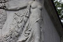 Grafmonumenten / Cemetery / Uitzonderlijk mooie beelden