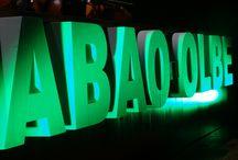 Equipos de iluminación en Abao Olbe / Montaje de equipos de iluminación en Abao Olbe