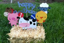 Farm party for Jaxson 1st Bday!!
