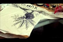 Hand painted tshirts tutorial