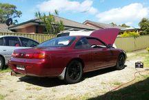 Tashs S14 Build / Progress shots of Natashas S14 200sx drift car build