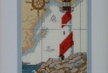 Cross Stitch-Lighthouses