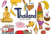 Thailand; The place and people / Fun facts and information about Thailand