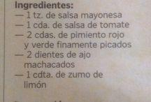 Salsas saladas