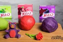Jello Playdoh