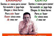 Dicas de português ♡