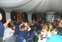 La Trela - Olympic Retica / La squadra vincitrice del campionato, la mitica Olympic Retica al ristorante La Trela! http://hotelsaligari.com/ristorante-la-trela-verceia/