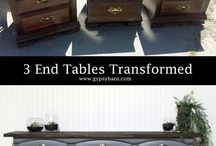 Furniture Redo / Rescue and reuse an old piece of furniture with an easy (or hard) DIY project for beautiful results.