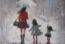 Rain ~ art