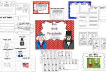 Presidents' Day  / by Carly DeAugustines Saal