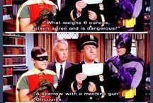Oh those superheroes!