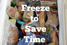 Dinner: Freezer meals