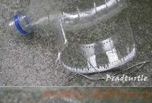 náramok z plastovej fľaše