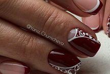 Bordeaux  nail