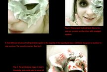 halloween makeup costum++