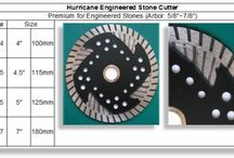 Cutting Blades / Cutting Blades for Granite, Marble or Engineered Stones