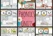 Phonics and Literacy Centers / Word Work:  Phonics and Literacy Centers