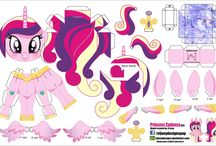 my little pony cut and stick