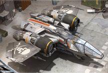 Sci Fi Ships