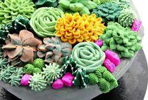 Potplant cakes
