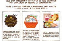 Le concept / E-boutique française proposant des ingrédients garantis SANS GLUTEN, des recettes et des conseils nutritionnels.
