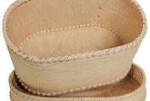 Birkebark æske og birkebark dåser / Håndlavet birkebark æsker og dåser