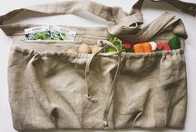 garden and Egg gathering aprons