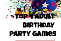 Adult Birthday ideas / by Hillarie Millsaps