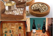 Corks repurposed / Save your wine corks for fun projects!