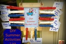kid summer stuff to do / by Fiona McKiernan