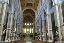 Napoli - Cathedral / The Cathedral represents the soul of Naples where ordinary people can flee to seek divine help. This is the Church of San Gennaro, the Church of the miracle of the blood which dissolves three times a year.
