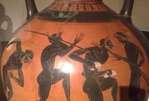Grieken, Schilderkunst, Zwartfigurige vasen