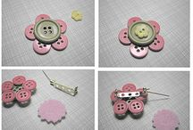 Broches / Broches de botones