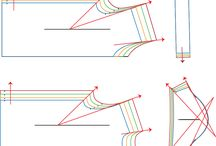 Sewing patterns grading