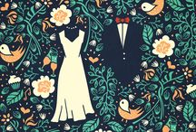 Wedding Print Design / Wedding Invitations, Save the Dates, etcetera.