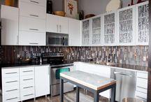 Mercury Mosaics Kitchens / by Mercury Mosaics