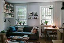 Apartment inspiration / by Steve Farkas