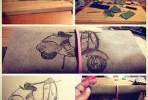 Handmade tobacco pouches