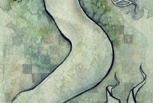 Dryads, Water Nymphs, Sea Sirens & Selkies