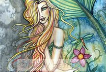 ***Mermaidens*** / by Loredna Grippa