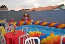 Balloons by the Pool / by JOAN HAGEDORN