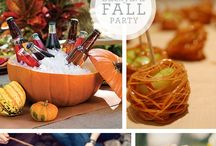 Fall Party Ideas / fall party, fall celebrations, rustic party, it's fall yall