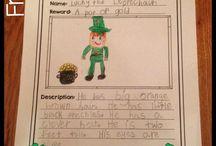 School - St. Patrick's Day