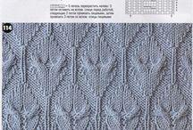Вязание. Схемы / Схемы для вязания спицами