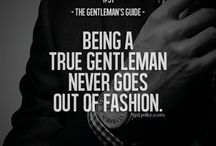 Gentleman fashion